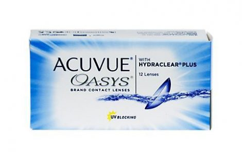 Acuvue Oasys with Hydraclear Plus (12 lenses)