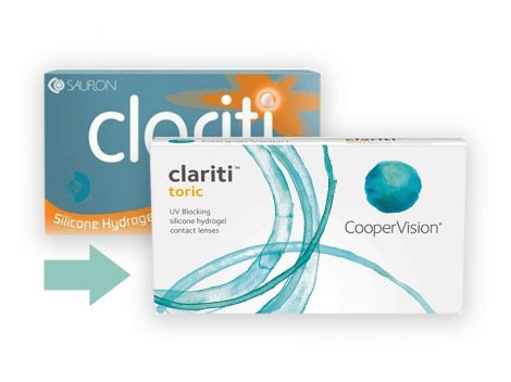 Clariti Toric (3 lenses)